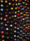 9474 Record Albums Backdrop - Backdrop Outlet