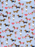 9693 Love Dogs Backdrop - Backdrop Outlet