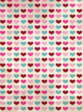 Hearts in Color Backdrop - 9700 - Backdrop Outlet