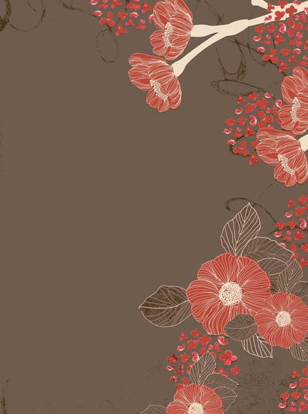 9749 Taupe Coral Backdrop - Backdrop Outlet
