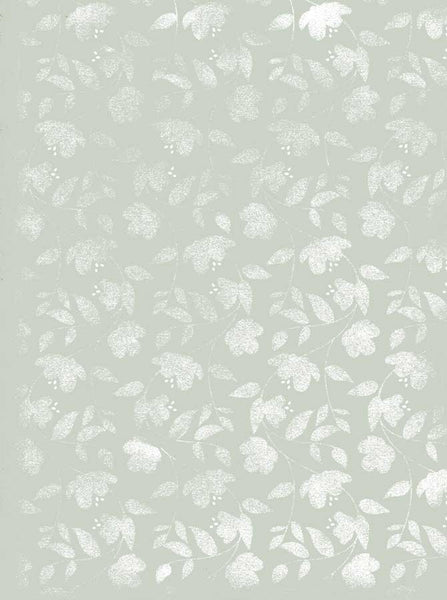 9759 Mint Floral Backdrop - Backdrop Outlet