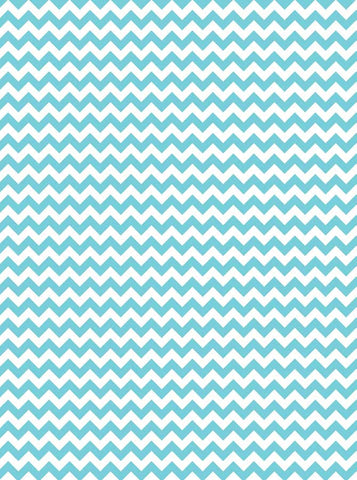 9802 Tiffany Blue Chevron Backdrop - Backdrop Outlet - 2