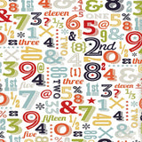 9907 Numbers Backdrop - Backdrop Outlet