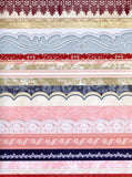 9923 Pink Blue Vertical Stripes Backdrop - Backdrop Outlet