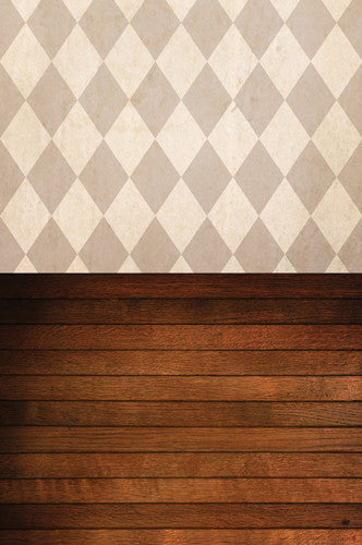 S109 Parchment Paper Harlequin Tawny Wood Switchover Backdrop - Backdrop Outlet