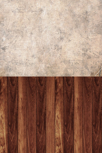 S118 Distress paper Textured Cinnamon Wood Switchover Backdrop - Backdrop Outlet