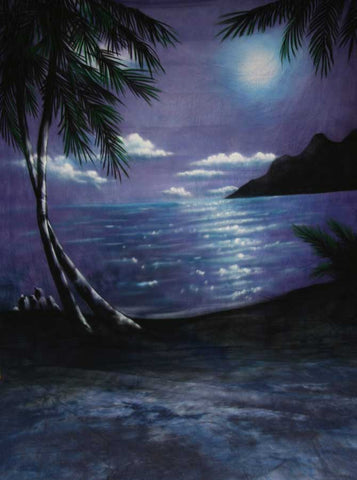 Beach Blue Moon Prom Backdrop - ST2020 - Backdrop Outlet