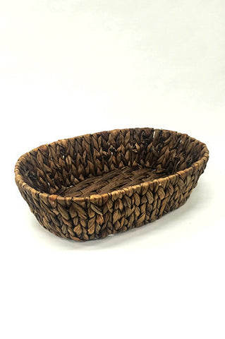"PRKB102 Woven Straw Posing Basket Prop 13""x10""x4"" - LAST CALL"