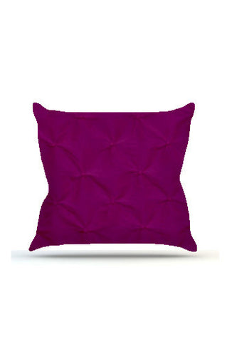 PRP625 Purple Pinched Cloth Posing Pillow Cover - Backdrop Outlet