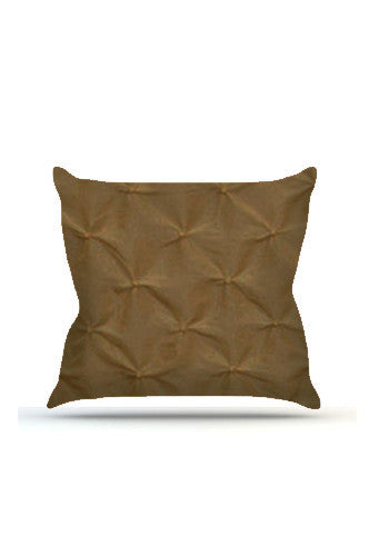 Brown Pinched Cloth Posing Pillow Cover - PRP626 - Backdrop Outlet