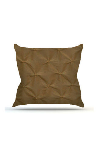 PRP626 Brown Pinched Cloth Posing Pillow Cover - Backdrop Outlet