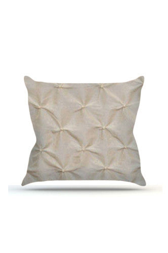 PRP628 Ivory Pinched Cloth Posing Pillow Cover - Backdrop Outlet