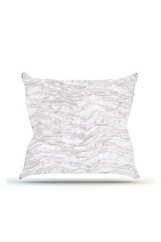 PRP731 Ivory Wave Cloth Posing Pillow Cover - Backdrop Outlet