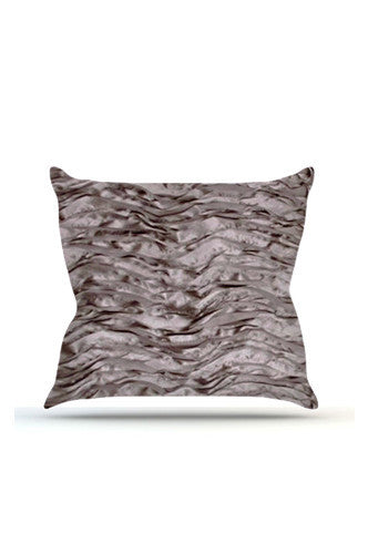 PRP732 Silver Wave Cloth Posing Pillow Cover - Backdrop Outlet