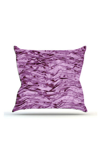 PRP736 Purple Wave Cloth Posing Pillow Cover - Backdrop Outlet