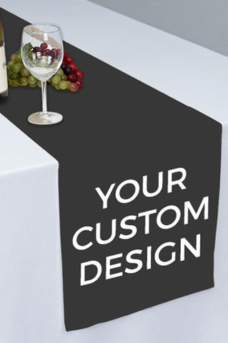 PTR000 Custom Design Printed Cloth Table Runner - Backdrop Outlet