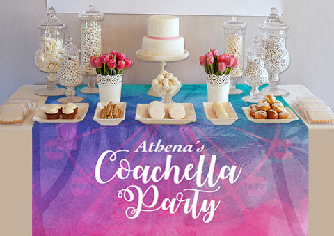PTTC133 Coachella Party Table Topper - Backdrop Outlet