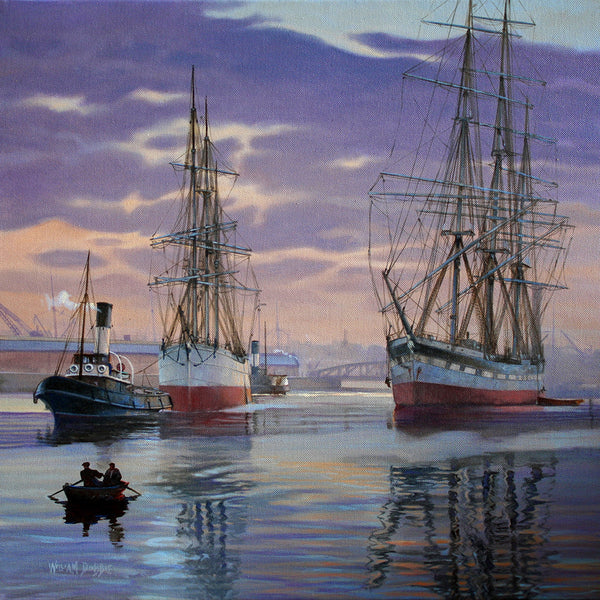 Days of Steam and Sail by William Dobbie