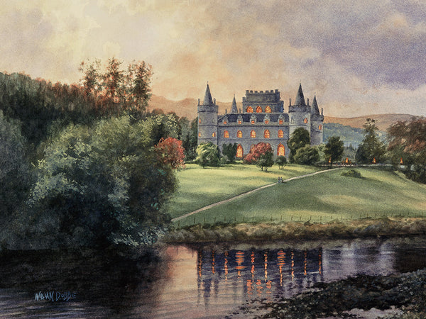 Inverary Castle by William Dobbie