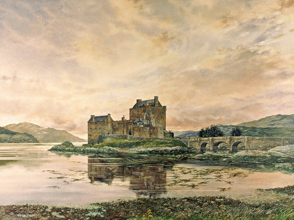 Eilan Donan Castle by William Dobbie