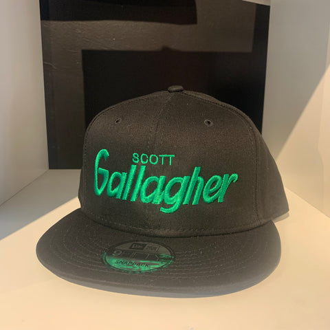 Scott Gallagher Black Retro SnapBack Hat