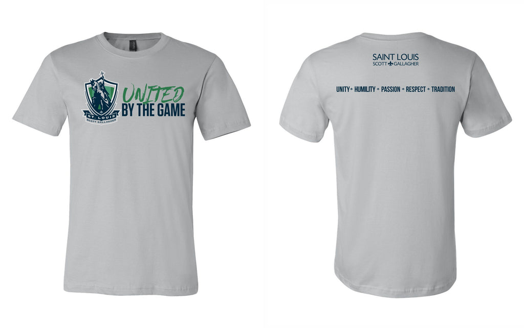 "SLSG ""United By The Game"" Adult T-Shirt - Grey"