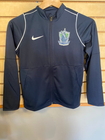 SLSG Nike Youth Full Zip Jacket - Navy