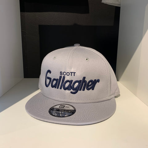Scott Gallagher Grey Retro SnapBack Hat