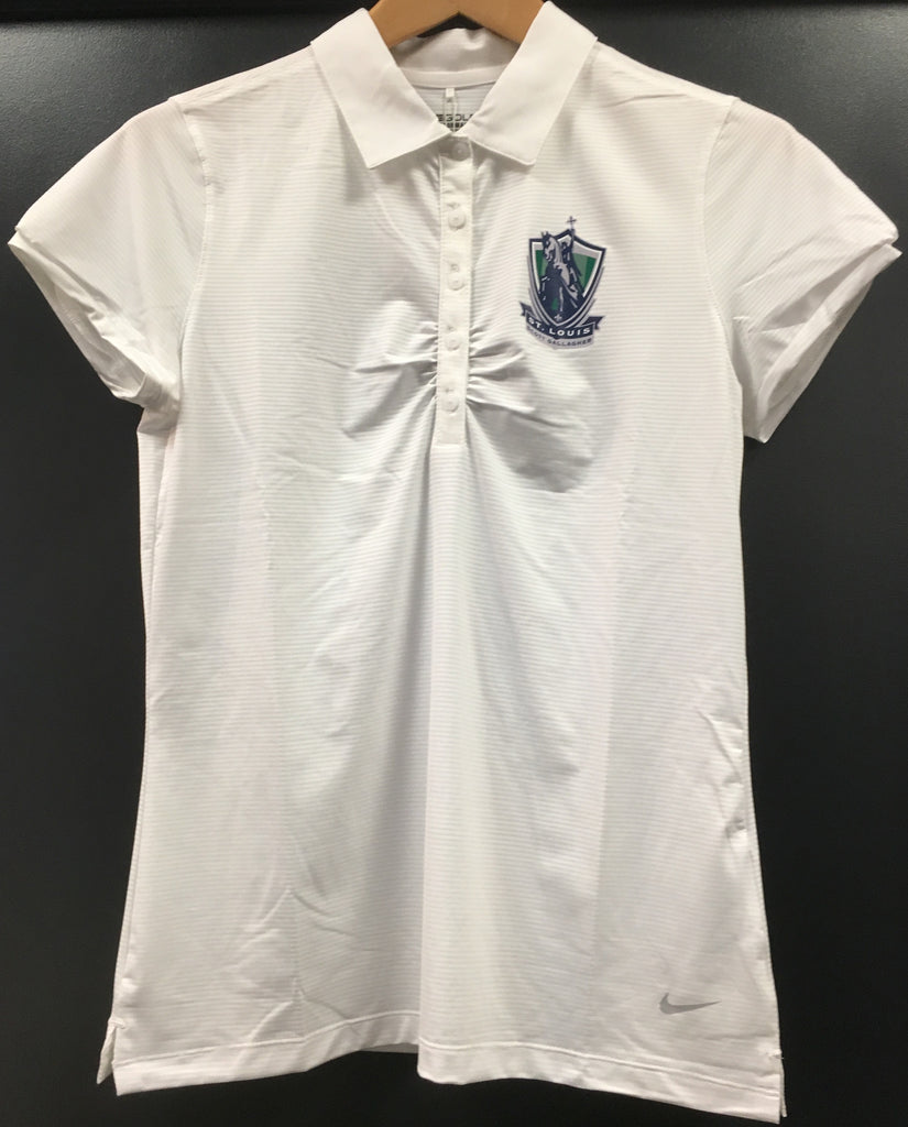 WOMENS SLSG NIKE GOLF POLO - WHITE