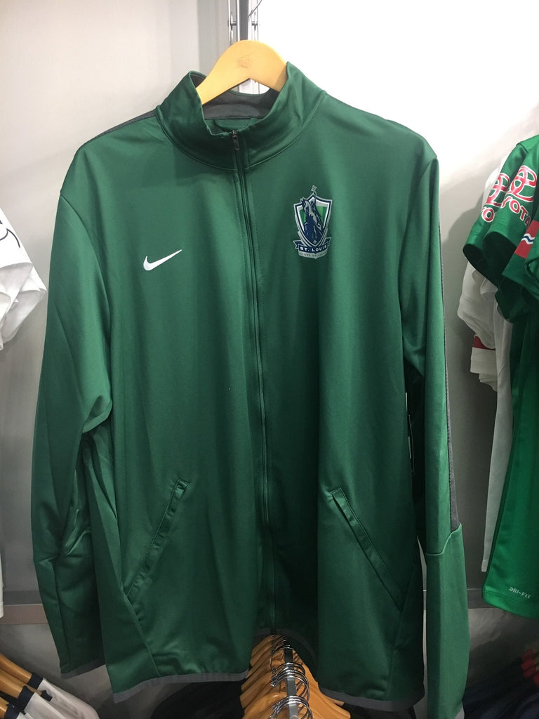 SLSG NIKE Track Jacket - DARK GREEN