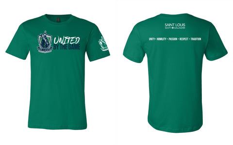 "SLSG ""United By The Game"" Youth T-Shirt - Green"