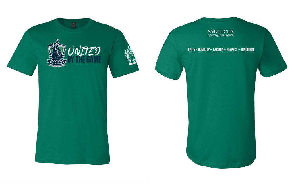 "SLSG ""United By The Game"" Adult T-Shirt - Green"
