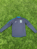 "SLSG NIKE Youth 1/4"" Zip Navy/Royal"