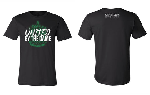 "SLSG ""United By The Game"" Adult T-Shirt - Black"