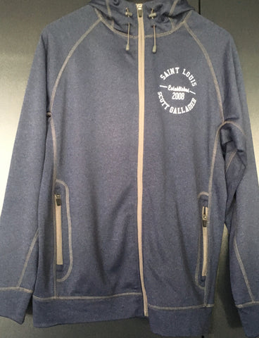 Mens SLSG EST. 2008 FULL ZIP JACKET