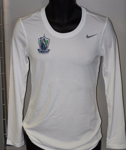 Womens SLSG L/S White Shirt