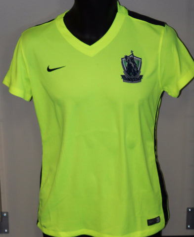 Youth SLSG Nike Dri-Fit Short Sleeved Shirt (Volt)