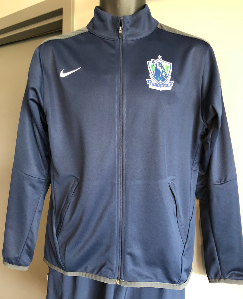 NIKE Nike Youth JKT - NAVY
