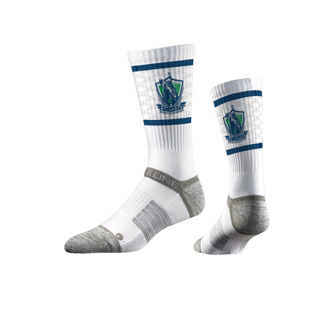 SLSG Logo Youth Crew Socks