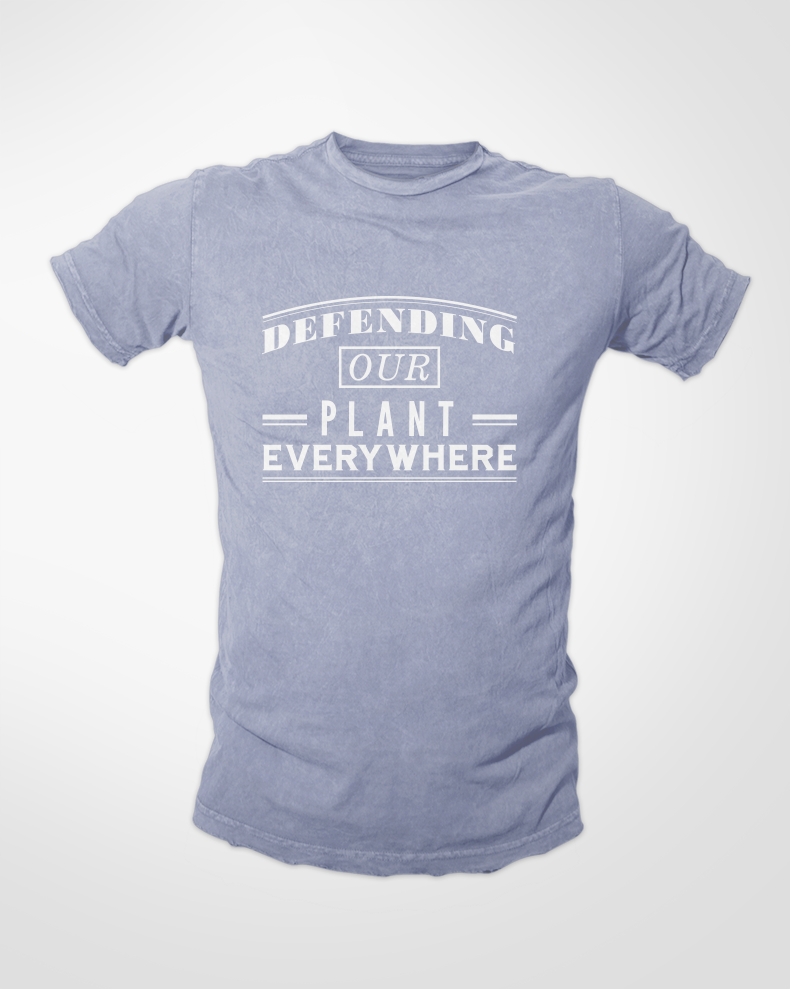 Defending Our Plant Everywhere / Mens / Shirt