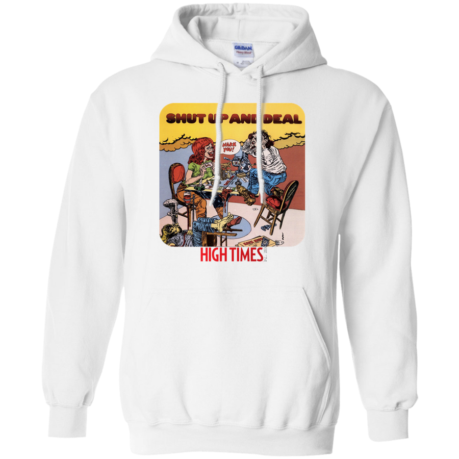 Shut Up and Deal Pullover Hoodie