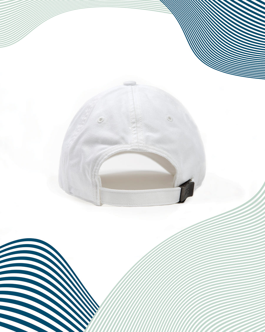 DOPE Logo Dad Hat / White