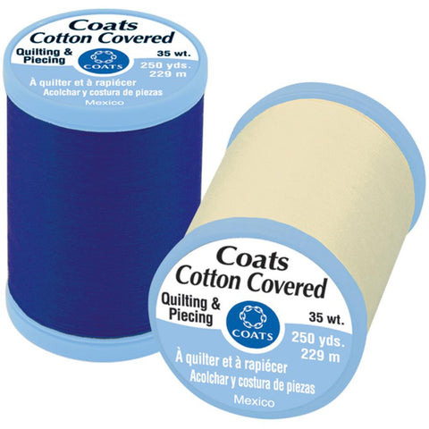 Coats Cotton Covered Quilting & Piecing Thread 250yds