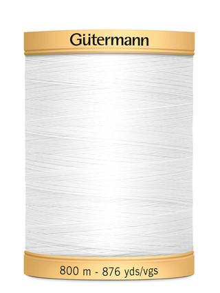 Gutermann Natural Cotton Thread Solids 876yds
