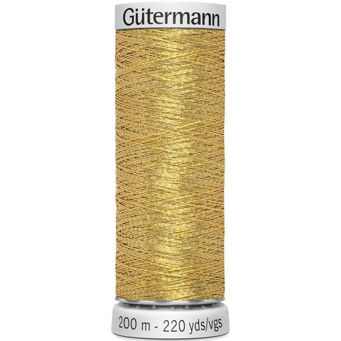 Gutermann Dekor Metallic Thread 200m