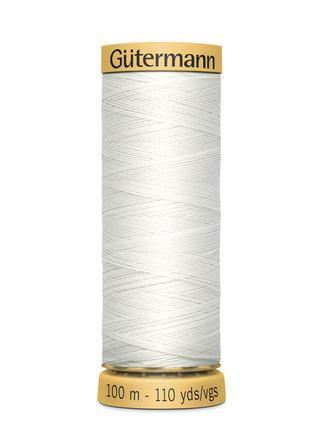Gutermann Natural Cotton Thread 110yds