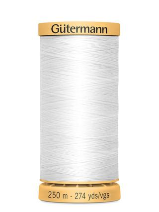 Gutermann Natural Cotton Thread 274yds