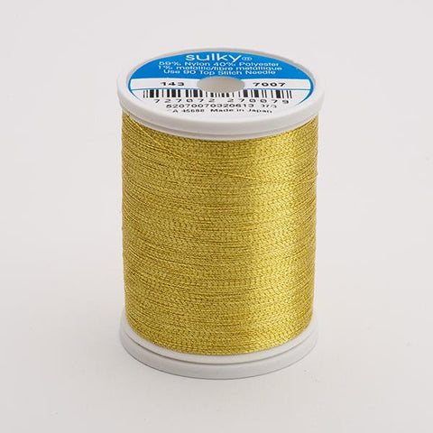 Sulky King Metallic Thread 1000yds