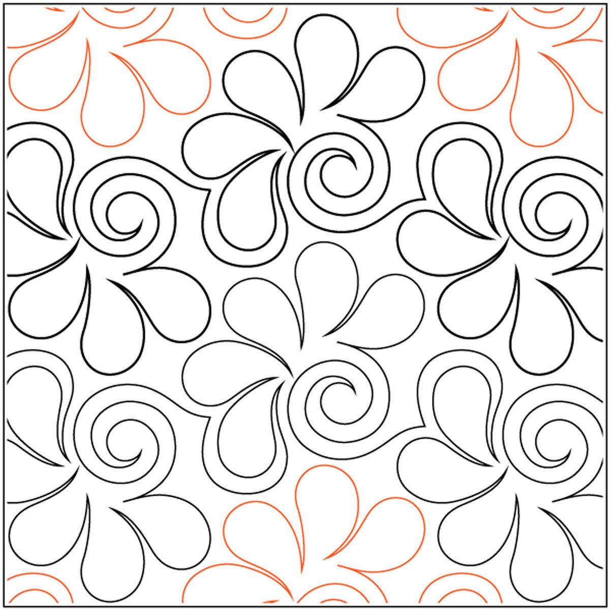 Quilt Stencils By Patricia Ritter Bauhaus 12in - Quilting-Warehouse