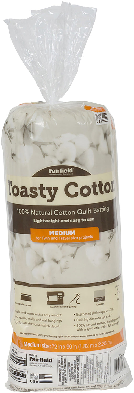 Toasty Cotton Batting 72inX90in